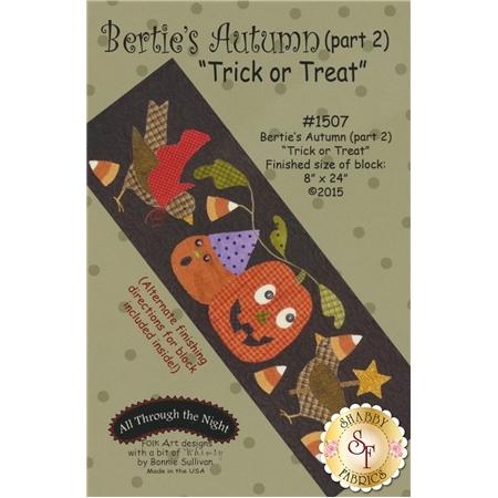 Bertie's Autumn - Part 2 - Trick or Treat Pattern
