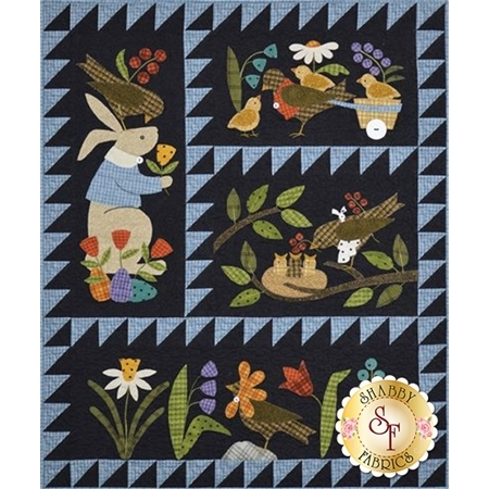 Bertie's Spring - Set of 4 patterns