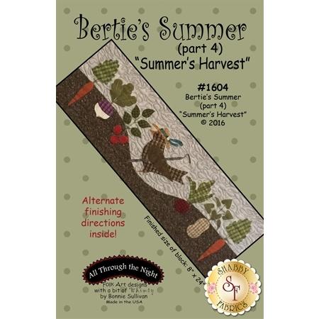 Bertie's Summer - Part 4 - Summer Harvest Pattern