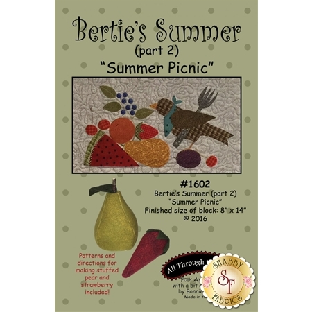 Bertie's Summer - Part 2 - Summer Picnic Pattern