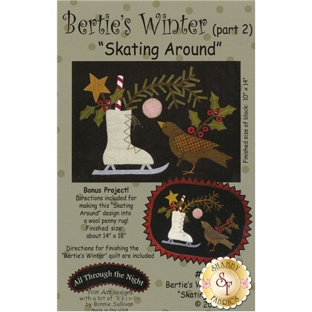 Bertie's Winter - Part 2 - Skating Around Pattern