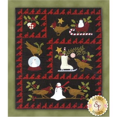 Bertie's Winter - Set of 4 Patterns