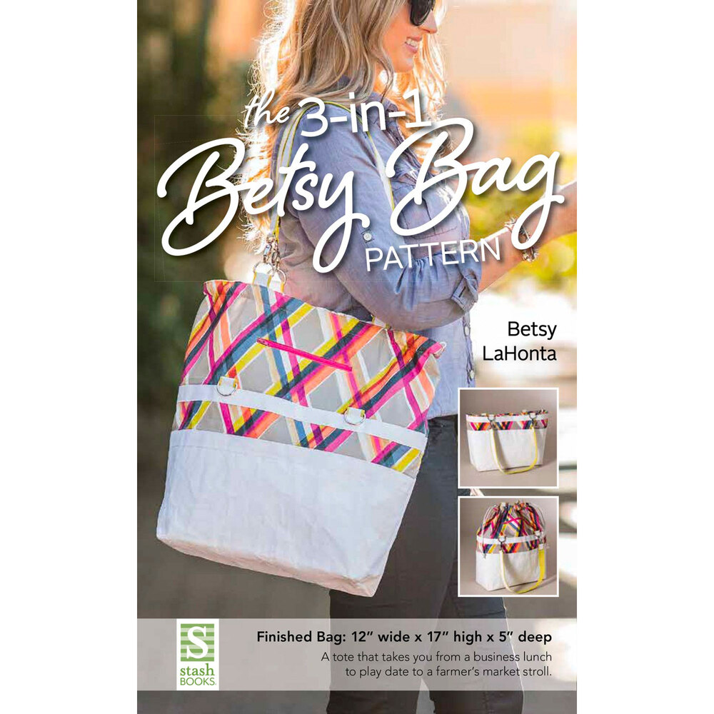 The front of the 3-in-1 Betsy Bag pattern