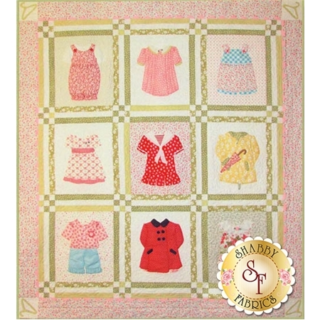 Betsy's Closet quilt pattern