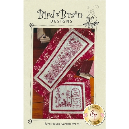 Bird House Garden Machine Embroidery CD
