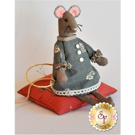 Bitty Mouse Pincushion Pattern