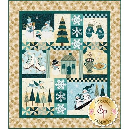 Blessings Of Winter Pattern Shabby Fabrics