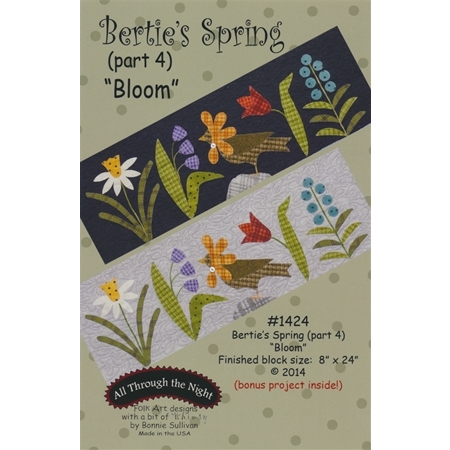 Bertie's Spring - Part 4 - Bloom Pattern