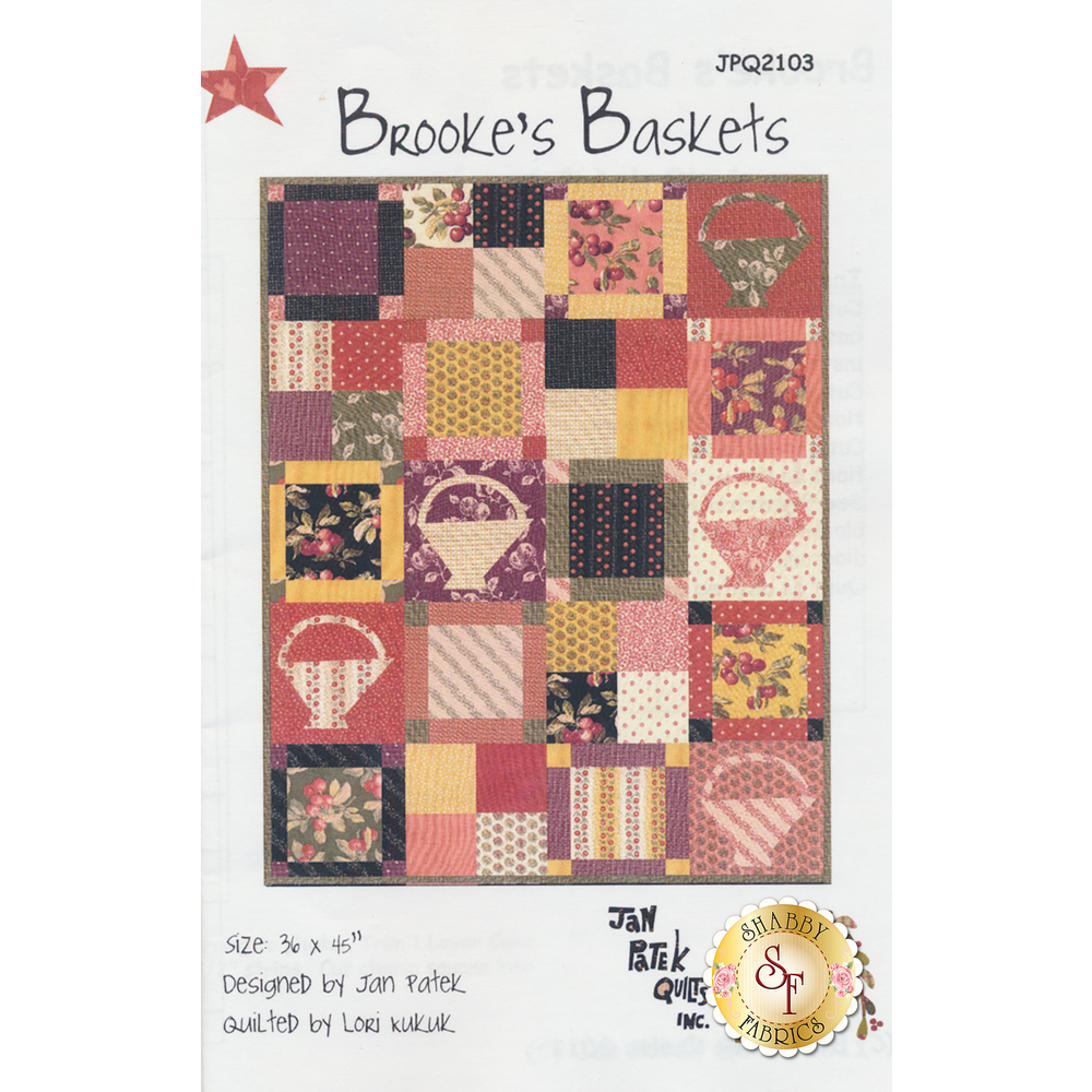 Brooke's Baskets Pattern JPQ2103