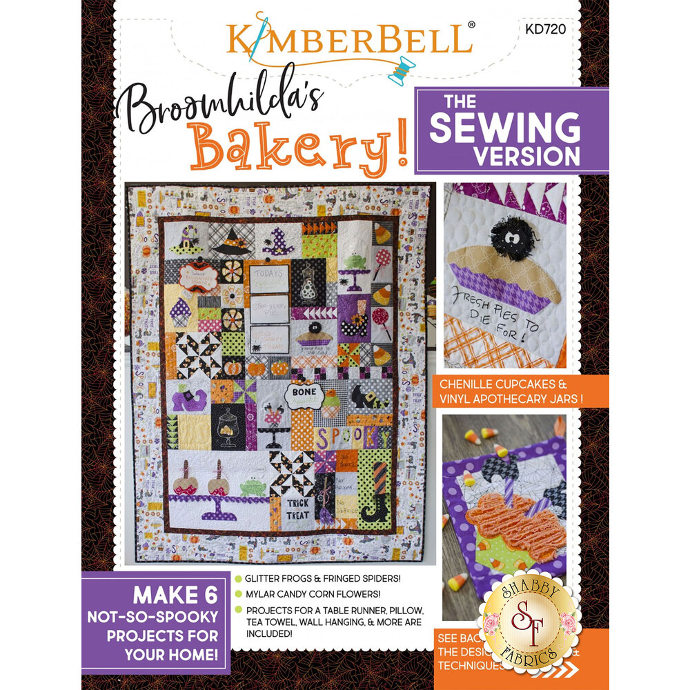 Broomhilda's Bakery! The Sewing Version Book