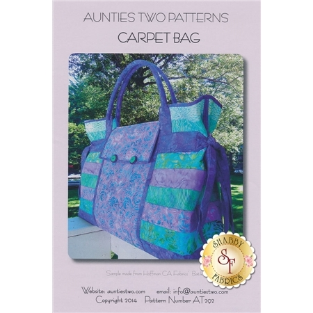 Carpet Bag - Aunties Two Patterns