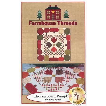 Checkerboard Pumpkins Pattern