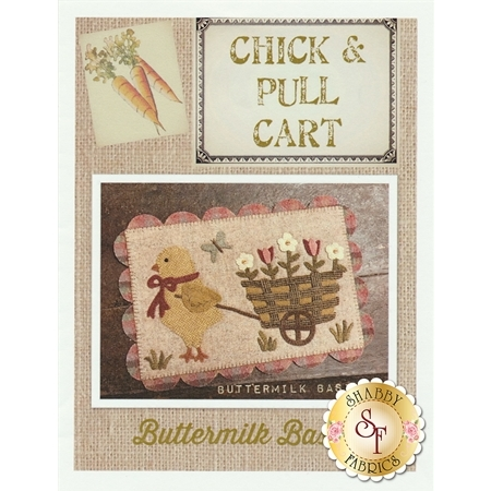 Chick & Pull Cart Table Mat Pattern