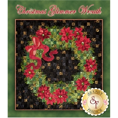 Christmas Glimmer Wreath Pattern