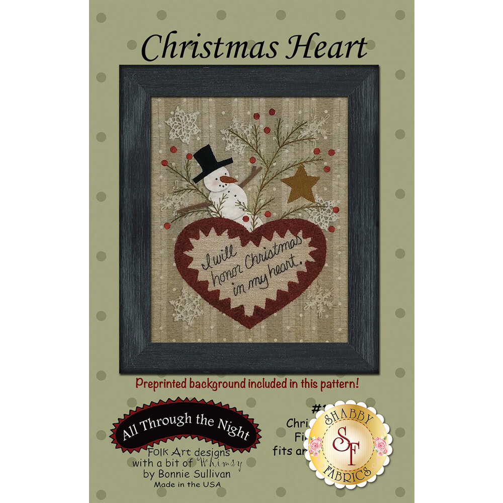 Christmas Heart Pattern