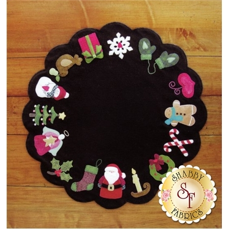 Christmas Memories Wool Table Mat Pattern