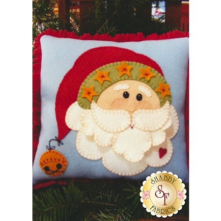 Christmas Santa Pillow Pattern
