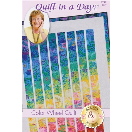 Color Wheel Quilt Pattern