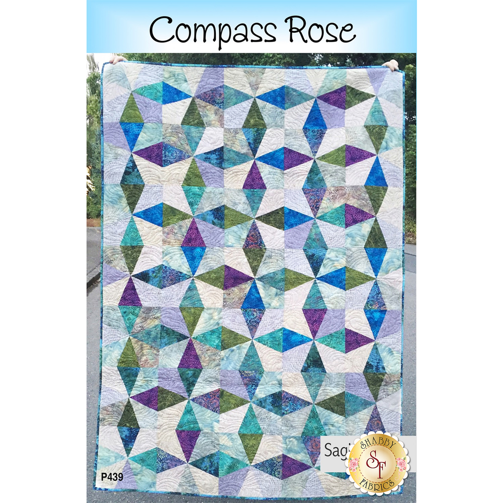 Compass Rose by Saginaw St Quilt Co