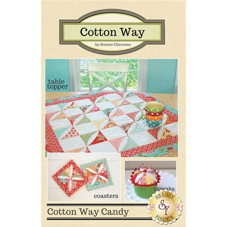 Cotton Way Candy - 3 projects in 1 Pattern