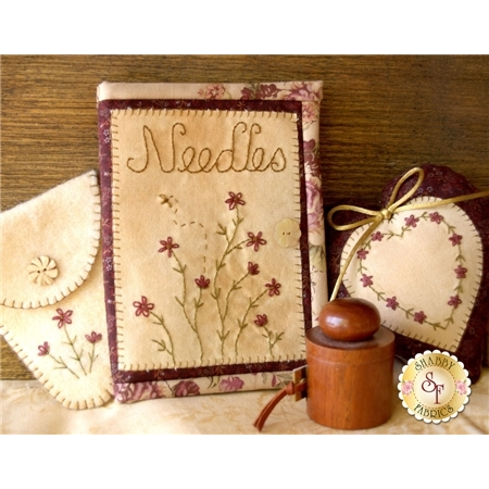 Daisy Needle Case Set Pattern