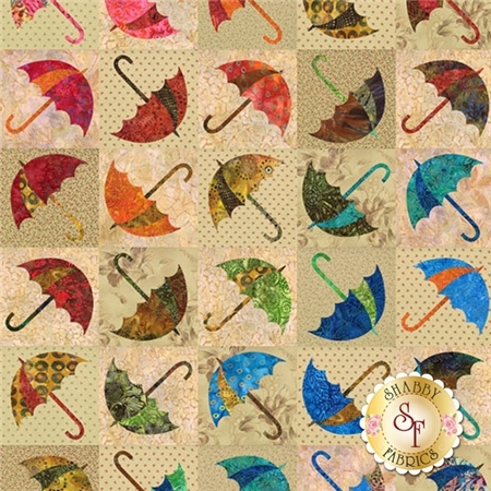 Dancing Umbrella Pattern