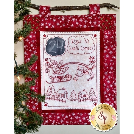 Days 'til Santa Comes CD for Machine Embroidery