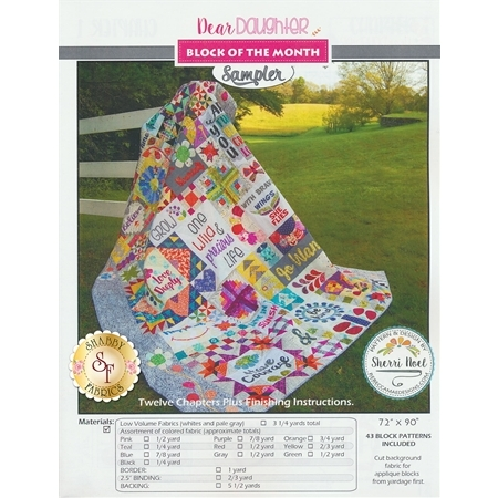 Dear Daughter Quilt Sampler Pattern