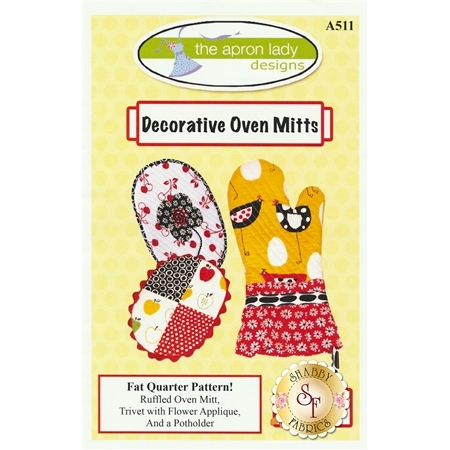 Decorative Oven Mitts Pattern