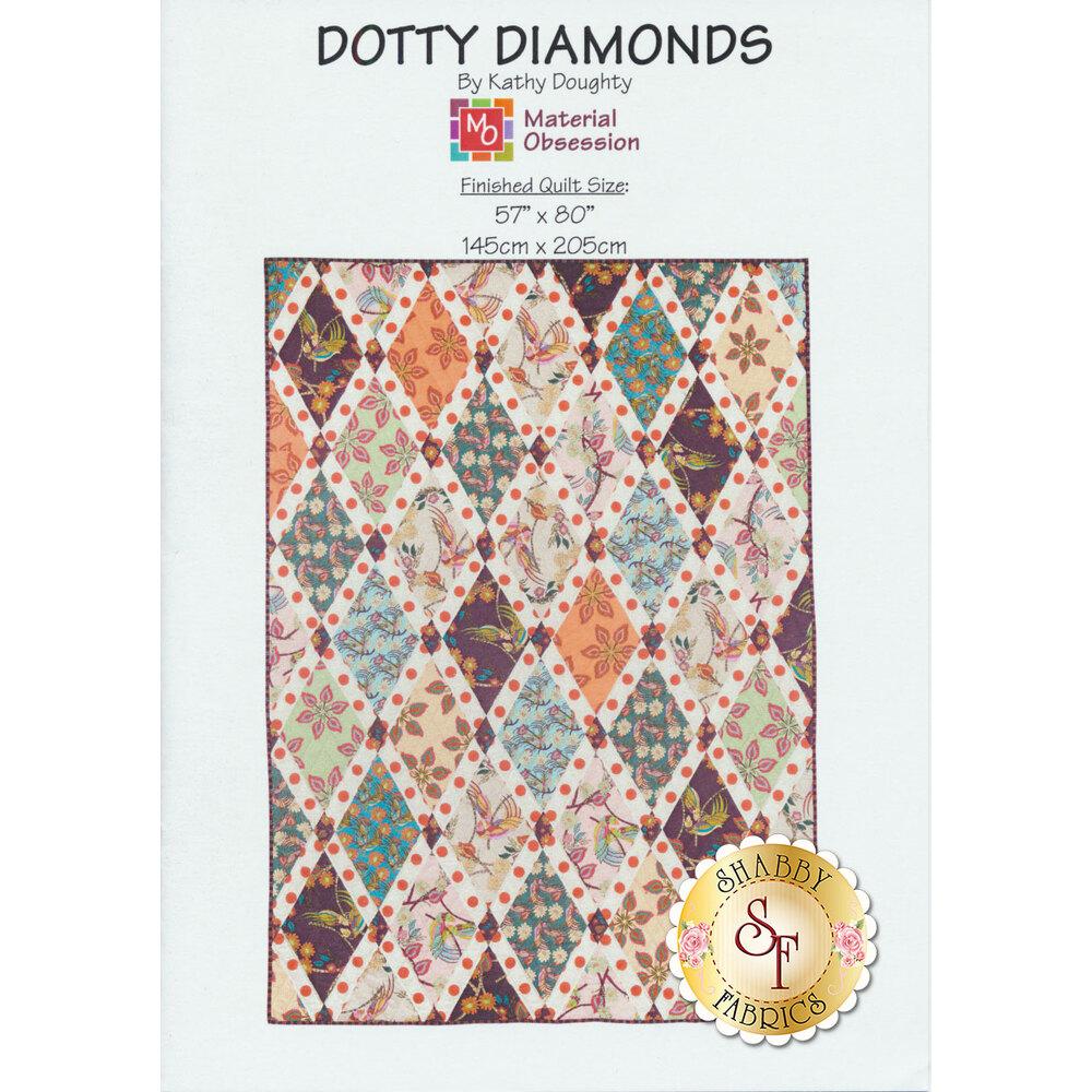 Dotty Diamonds Pattern available at Shabby Fabrics