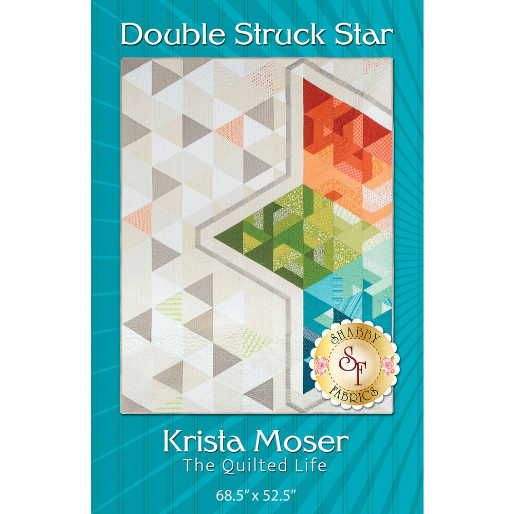 The front of the Double Struck Star pattern by Krista Moser
