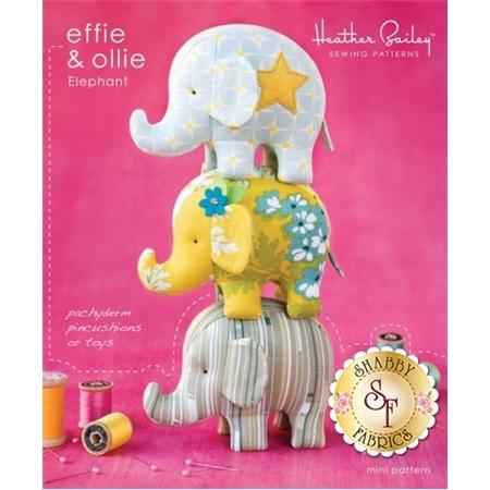 Effie & Ollie Elephant Pattern