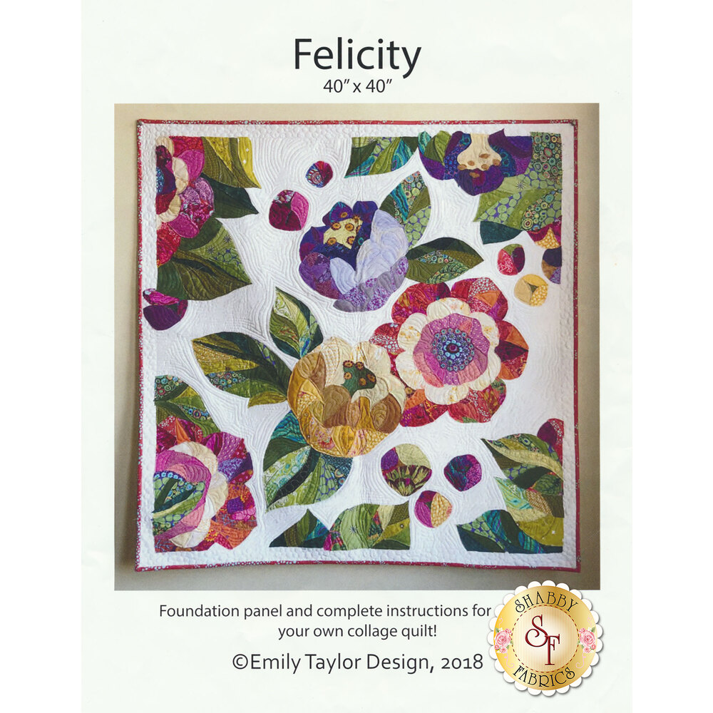 Felicity Quilt Pattern now available
