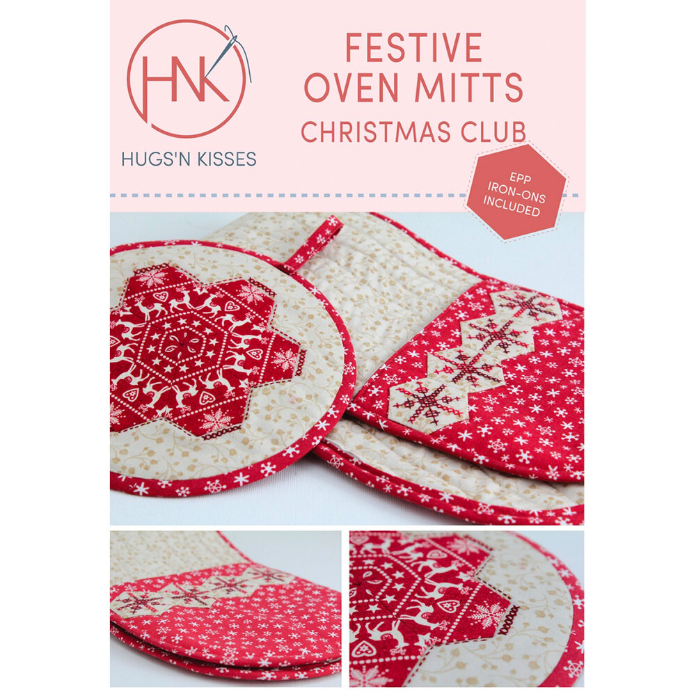 Festive Oven Mitts Christmas Club Pattern