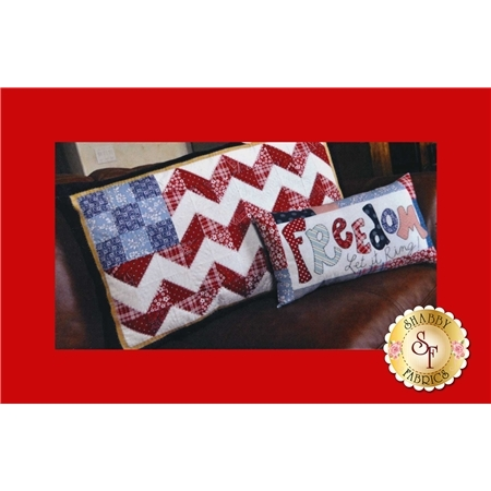 The Flag and Freedom Pillow Set Pattern