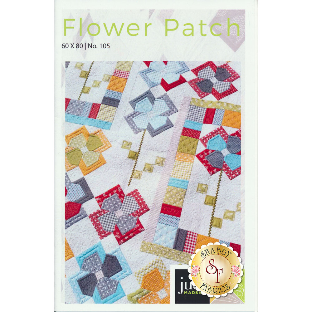 Flower Patch Quilt Pattern available at Shabby Fabrics