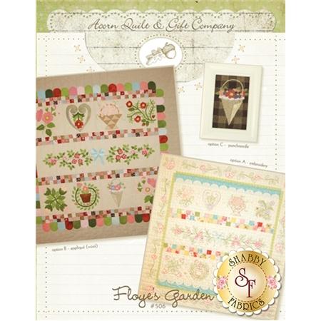 Floye's Garden - 3 Patterns in 1 Pattern