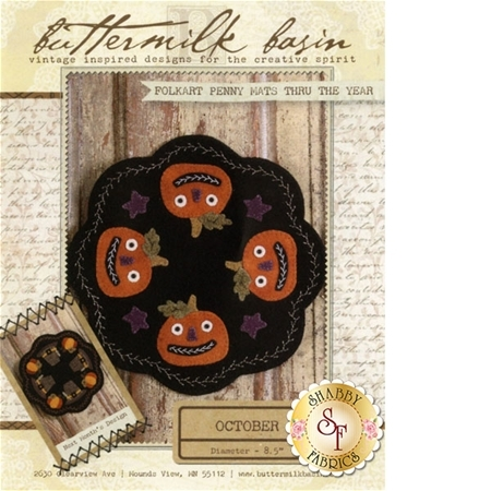Folkart Penny Mats Thru The Year - October Pattern