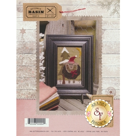 Framed Sheep with Hat Pattern