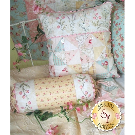 French Cottage Garden Pillow Pattern