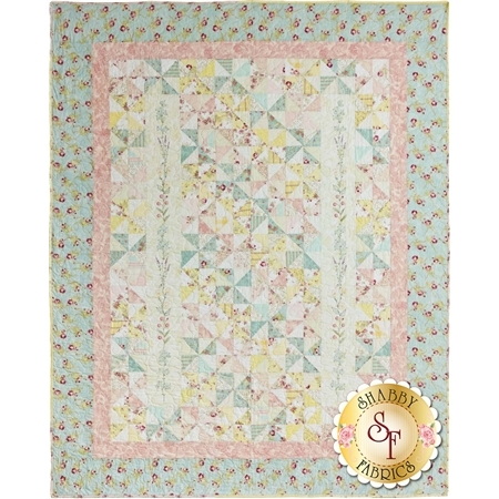 French Cottage Garden Quilt Pattern