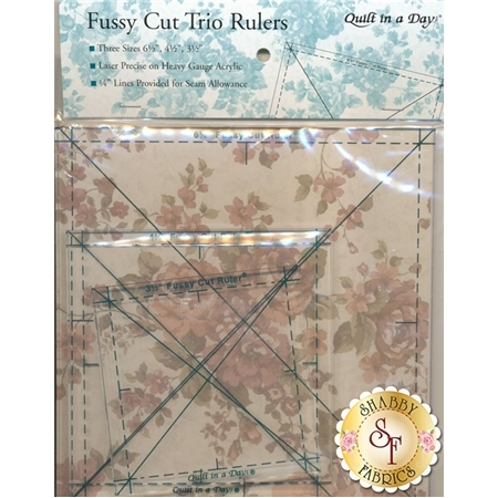 Fussy Cut Trio Rulers Set