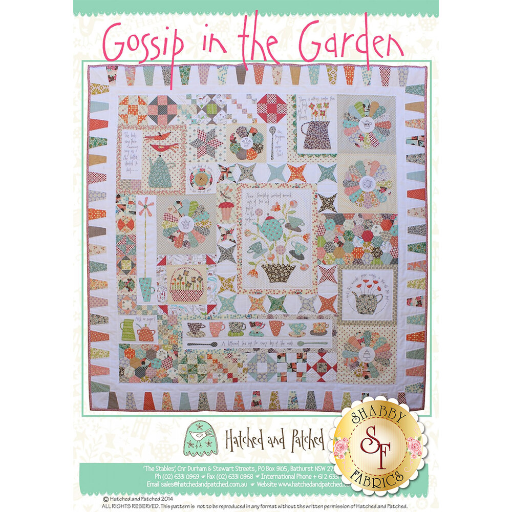 Gossip in the Garden Pattern