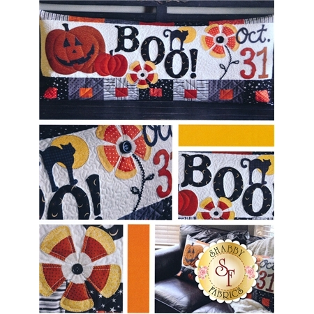 Halloween Boo - Kimberbell Bench Pillow Pattern