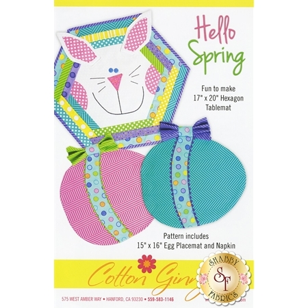 Hello Spring Pattern