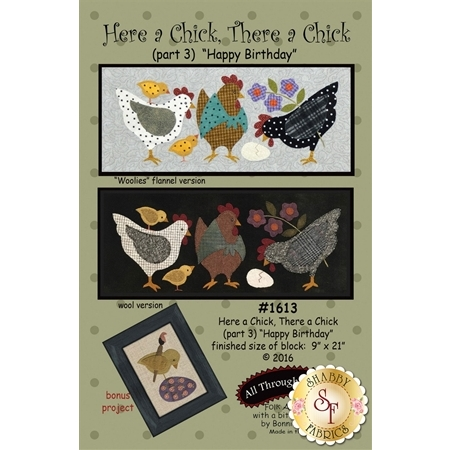 Here A Chick There A Chick - Part 3 - Happy Birthday Pattern
