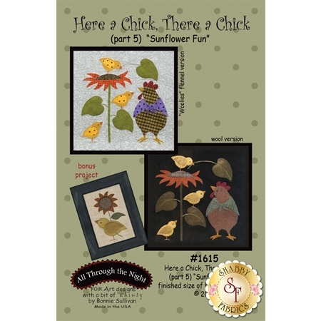 Here A Chick There A Chick - Sunflower Fun Pattern