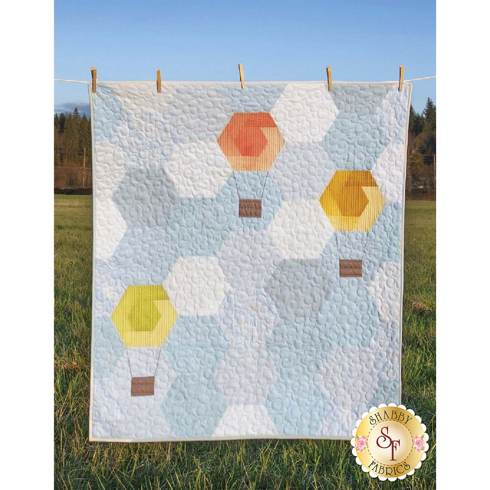 Hexie Hot Air Balloons Pattern by Krista Moser