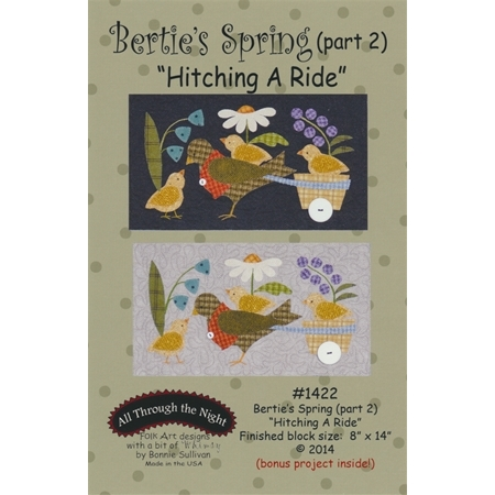 Bertie's Spring - Part 2 - Hitching A Ride Pattern