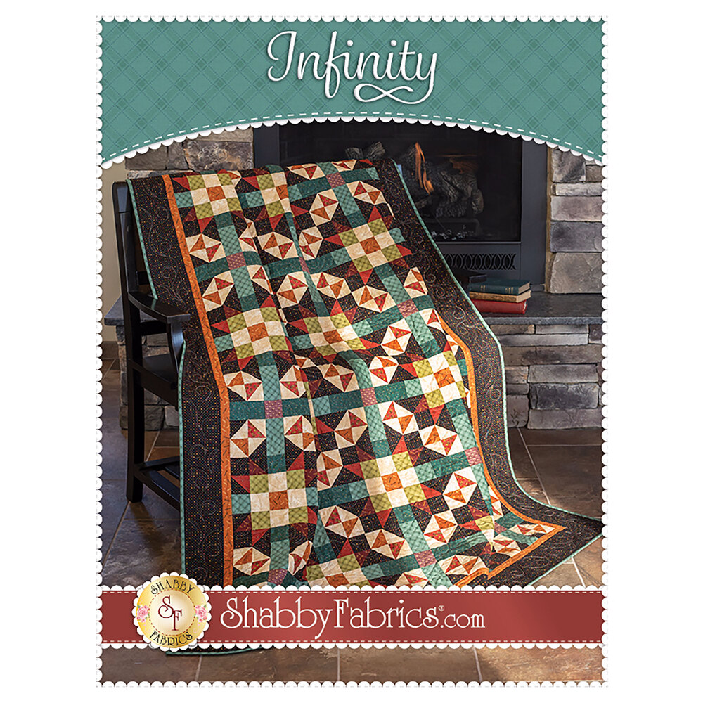 Infinity Quilt Pattern | Shabby Fabrics Exclusive